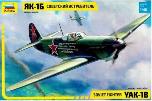 ZVEZDA 4817 1//48 Soviet Fighter Yak-1B