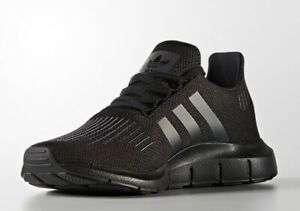 88f0fa8c60 Details about Adidas Swift Run Running Shoes Triple Color Black CG4111 $85