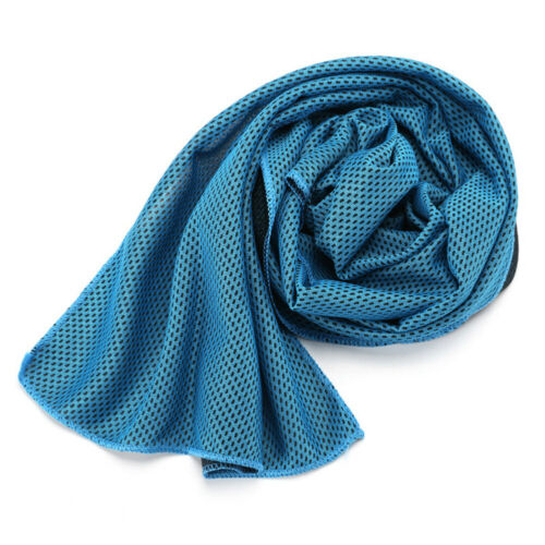 Absorbent Fitness Dry Cooling Sports Towel For Gym Exercise face Sweat Towels pq
