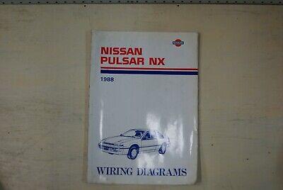 1988 Nissan Pulsar NX Factory Shop Service Repair Wiring ...