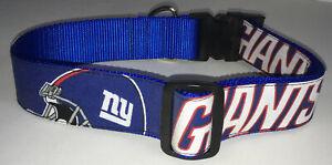 New-York-Giants-COLLAR-Dog-Large-Pet-Pro-Football-Fan-Team-Gear-NFL-Shop-XL-NY
