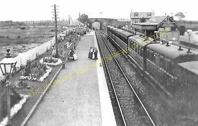 Leven Line. Monans Railway Station Photo Elie St Pittenweem 5