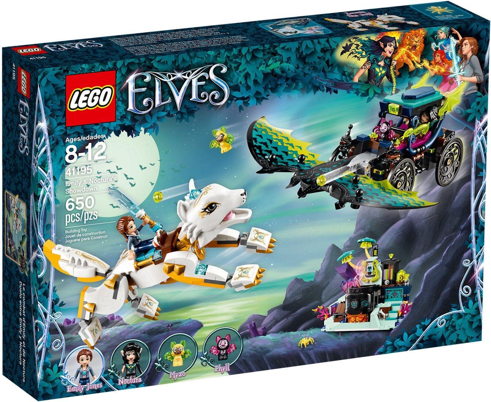 LEGO Elfen 41195 41195 41195 - Ausbeute der Conti zwischen Emily und Noctura Neu a85616