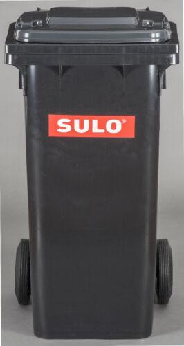 SULO Abfalltonne Mülltonne Tonne Müllbehälter 120 Liter NEU Farbe grau//schwarz