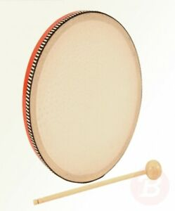 Performance-Percussion-PP3228-Hand-Drum-Red
