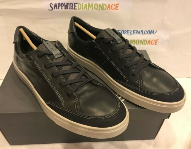 82991cd18000 ECCO Men s Kyle Classic Nubuck Lace Up Sneakers Shoes Size 9-9.5   43 NEW