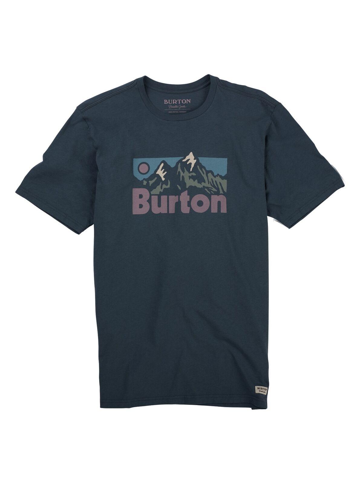 Burton Friston Herren T-Shirt  | Guter Markt  | Sorgfältig ausgewählte Materialien  | Starke Hitze- und Abnutzungsbeständigkeit