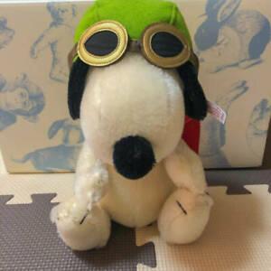 Steiff Snoopy Flying Ace Japan 1500 Limited 2017 Peanuts Stuffed Doll Hgcd079