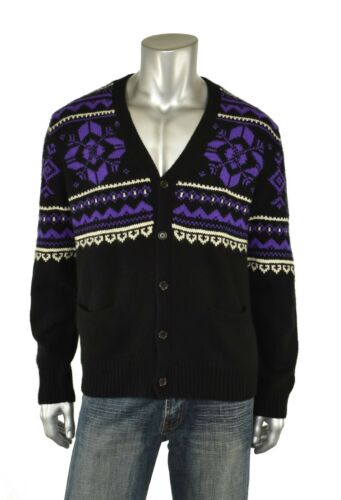Polo Ralph Lauren Sweater Ny Snowflake Cashmere Cardigan Black AS5FWgSvR