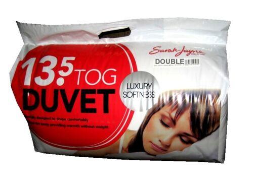 Duvet Quilt 13.5 Tog Single Double King Super king Polypropylene Warm