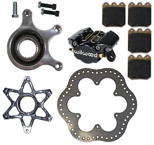 Details about NEW MICRO SPRINT REAR BRAKE  SET,ROTOR,ROTOR,HUB,CALIPER,PADS,CARRIER,BIRDCAGE