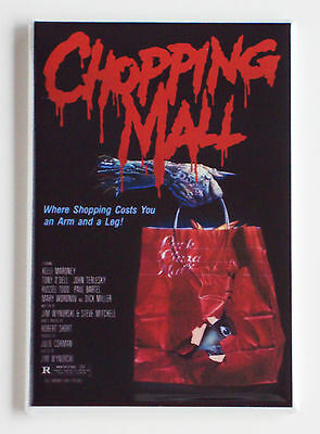 Chopping Mall FRIDGE MAGNET (2.5 x 3.5 inches) movie poster horror shopping