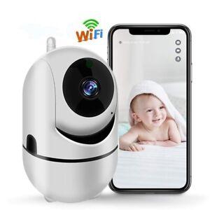 Visione Notturna Videocamera di Sorveglianza WLAN HD 720P Piccolo Baby monitor
