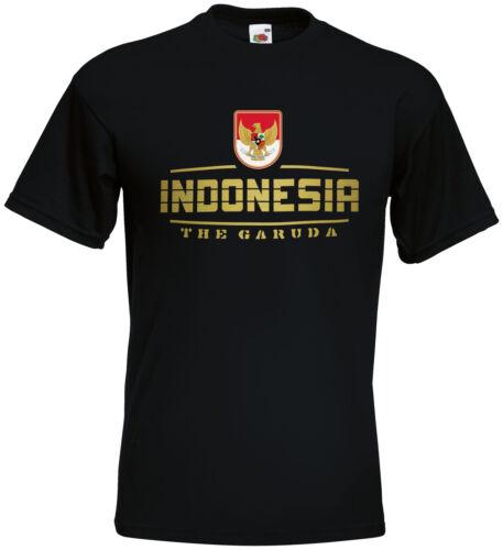 L/'Indonesia Fanshirt MAGLIA wm2018 S M L XL XXL
