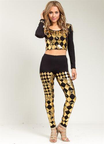 Women jumpsuit set top pants bodycon catsuit clubwear romper jumper outfit