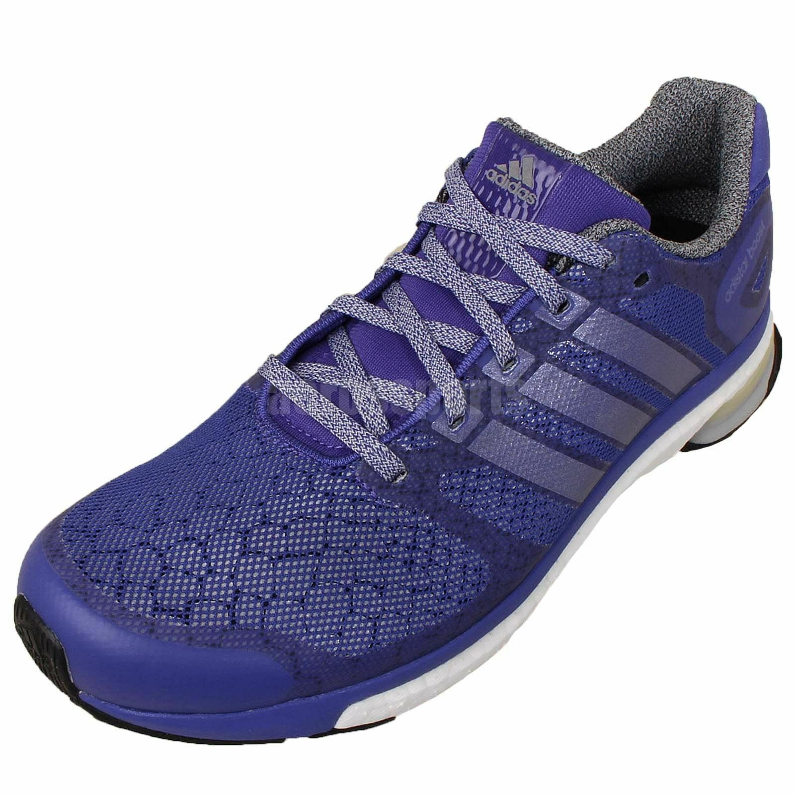 Adidas NWB Adistar Boost Glow Womens6.5 bluee Sneakers Running shoes888164881709