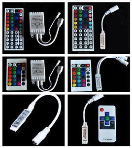 24-44-Mini-chiave-a-infrarossi-Remote-Controller-per-RGB-3528-e-5050-LED-Luce-Striscia-12V