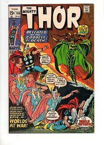 Thor-186-HELA-vs-THOR-COVER-amp-STORY-HIGH-GRADE-NM-9-2-GORGEOUS-ODIN-1971