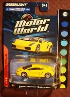 Greenlight 1:64 Motor World Speed Series Lamborghini Gallardo Yellow