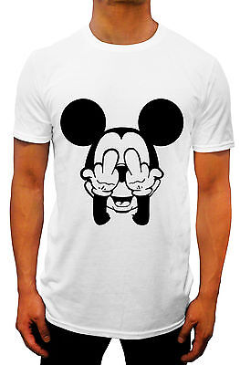 dope FINGERS MICKEY MOUSE SCOOP SINGLET HOODED T-SHIRT SWAG hipster pop DISNEY