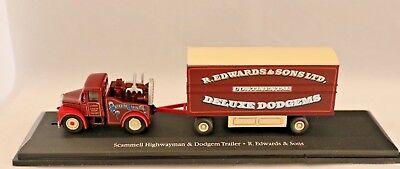 """++fahrzeug """"the Greatest Show On Earth""""/ Nr.12/ Scam Highwayman /zirkus./ M 1:76 Zu Den Ersten äHnlichen Produkten ZäHlen"""
