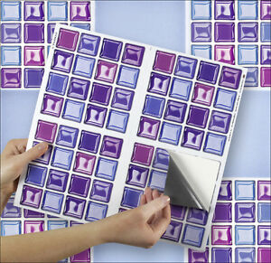 Image Is Loading 4 Tile Transfer Stickers 6 034 X 6