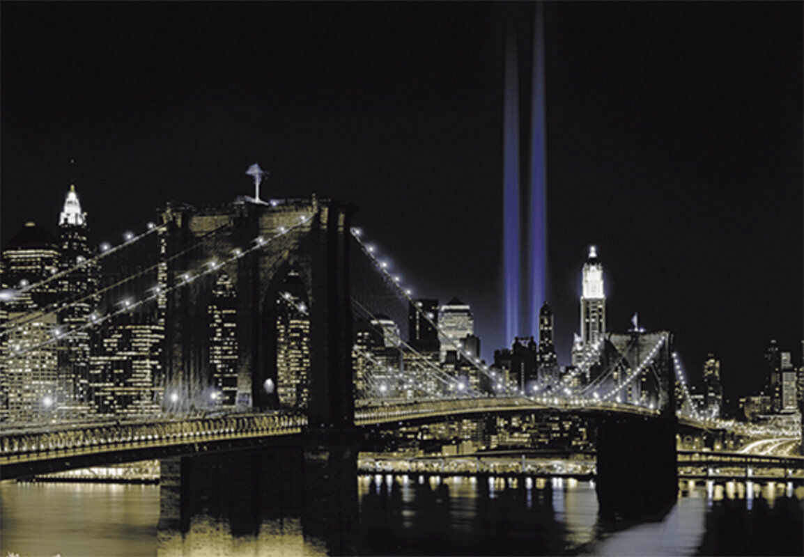 Papier Peint Photo INTISSé-(265V)- BROOKLYN -350x260cm 7lés- Manhattan New York