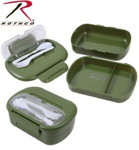 Mess Kit Plastic Lightweight Camping Scouts Hunting Mess Kit Rothco 5908
