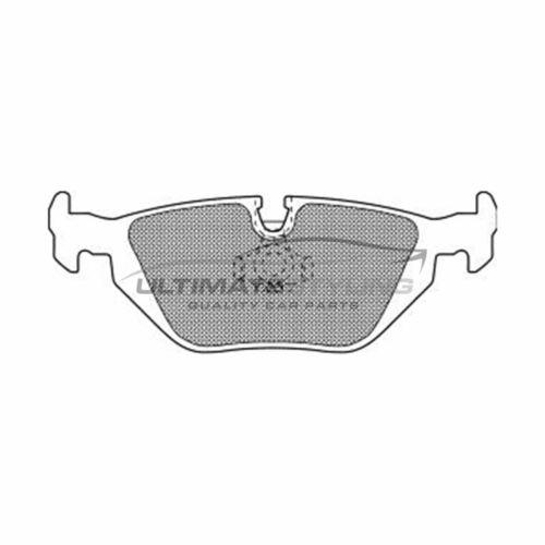 MG MG6 Hatchback 2011-2017 1.8 1.9 Rear Brake Pads Kit W123-H44-T17.3