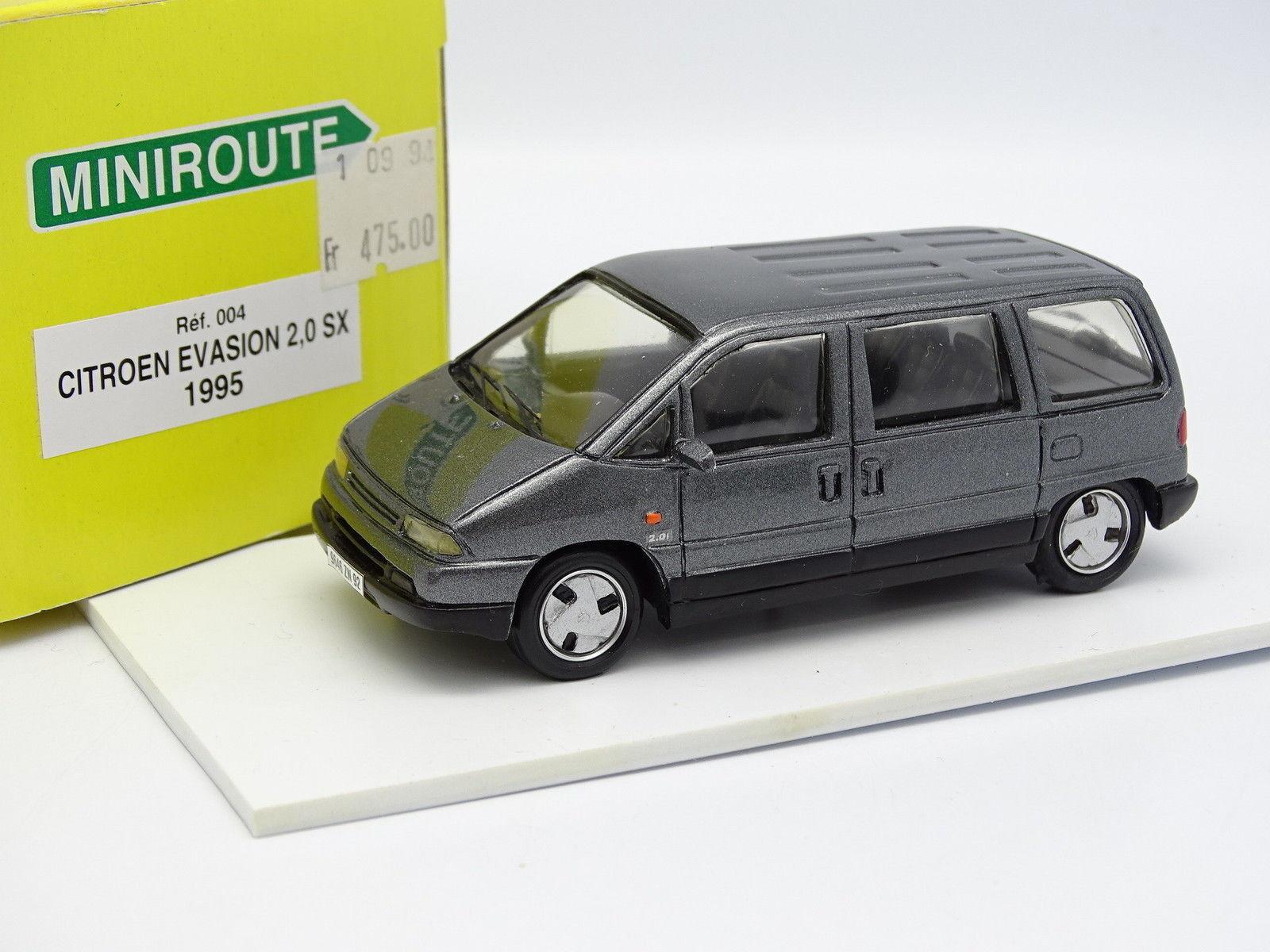 Miniroute Resina 1 43 - Citroen Evasión 2.0 SX grigio 1995