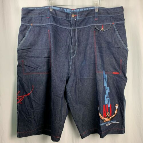 Platinum FUBU Denim Shorts 54 Limited Edition Muha