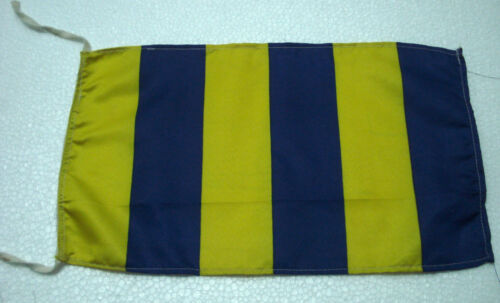 """Naval Signal Flag G Marine Code 8/"""" X 13/"""" Marine Code Nautical // Boat"""