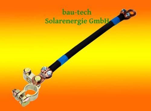 Accus 0,50m 25mm ² Câble de Batterie à pour Connexion Parallèle de Batteries