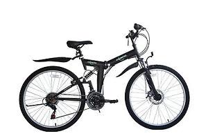 Ecosmo-26-034-Ruota-PIEGHEVOLE-ACCIAIO-Mountain-Bicicletta-Bici-21sp-18-5-034-26-sf02bl-Borsa