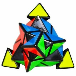 Details about Triangle Pyramid Pyraminx Puzzle Magic Rubik's Cube Toy A  Great Gift IdeaFrom UK