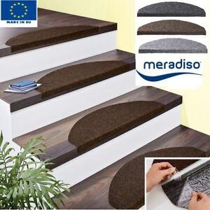 Details zu MERADISO Stufenmatten Set Stufen Teppich Treppen Matte  Stufenmatte 15 teilig NEU