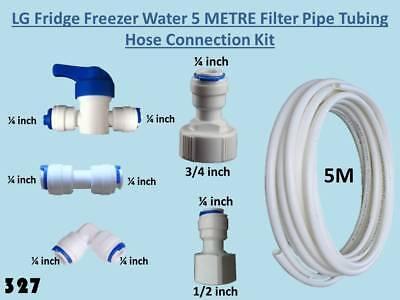 10 METER Fridge Freezer Water Filter Pipe Tubing hose connection kit set