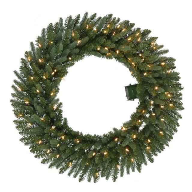 Artificial Wreath With 50 Led Lights 30