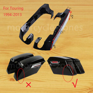 Image Is Loading 4 034 Hard Stretched Saddle Bag Extensions For