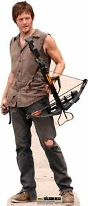 Daryl-Dixon-CARDBOARD-CUTOUT-STANDEE-STANDUP-The-Walking-Dead-Norman-Reedus-bow