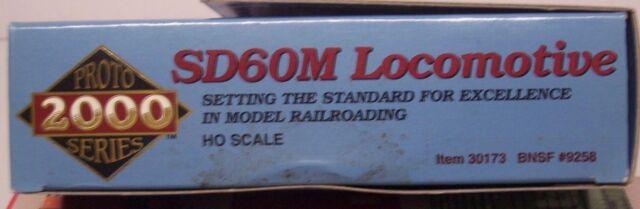Proto 2000 Series EMD Sd60m HO Item 30158 Burlington Northern BNSF #9223 for sale online