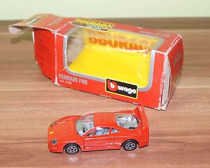Modellauto Bburago Die Cast Metal 1 43 Ferrari F40 No 4108 Ebay
