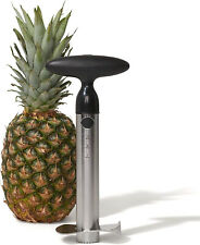 3.5 Diameters Non-Slip Silicon Handles /& Sturdy Designs West Ox Apple Slicer and Pineapple Corer Set Premium Stainless Steel Sharp Blades