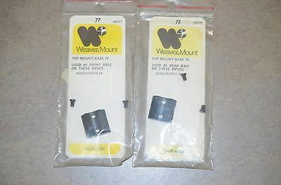 Weaver Top Mount Base 78 #48078 Winchester 94