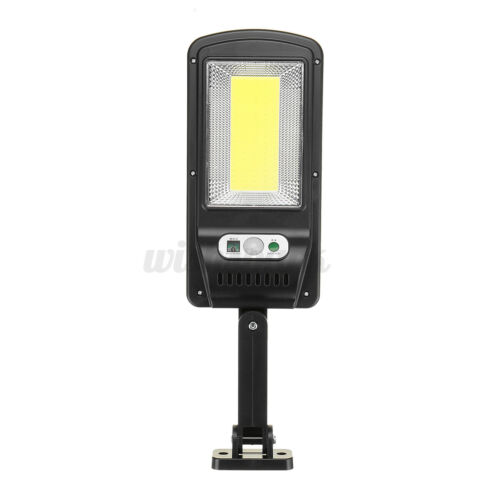 Details about  /500-1000W COB LED Solar Powered Wall Street Light PIR Motion Garden Lamp Remote
