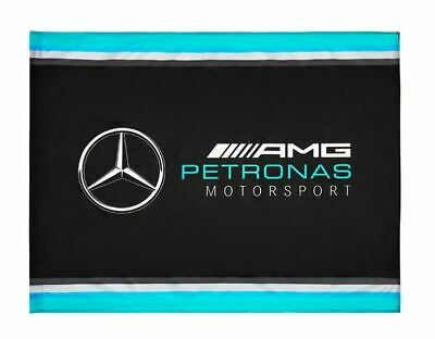 2019 Mercedes-amg F1 Formula 1 Team Ufficiale Fan Bandiera 120x900mm Lewis Hamilton-