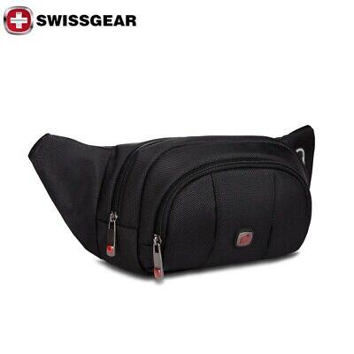 Swiss Marshall Genuine Leather Fanny Pack Waist Bag Classic Style Travel Organiz