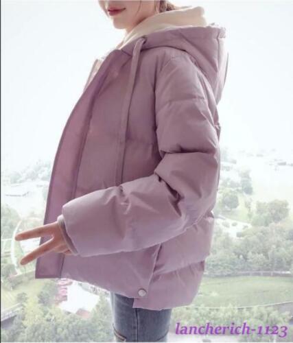Women/'s Winter Korean Down Cotton Coat Loose Short Cotton Jacket Fashion Outwear