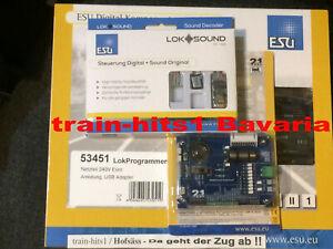 "OVP ESU 58816 LokSound micro V5.0 /""Universalgeräusch Programmieren/"" 6-pol NEU"
