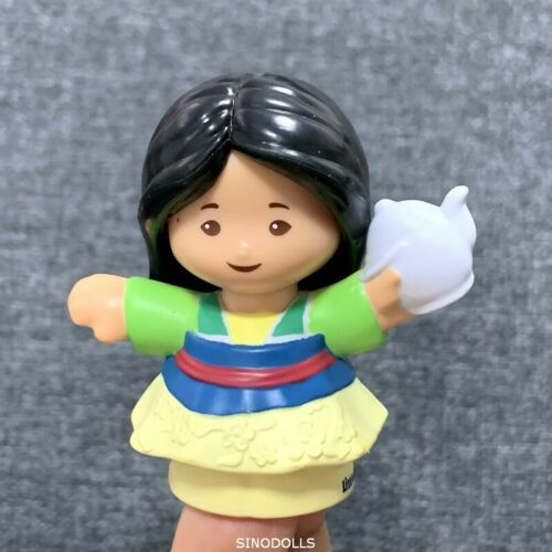 """Fisher Price Little People Disney Princess 2/"""" Figure Girl Toy Doll Xmas Gift"""